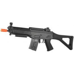 Cybergun Swiss Arms SIG SG 552 Commando LPEG Airsoft AEG Rifle - BLACK