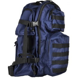 NcStar VISM Tactical MOLLE Backpack - Navy Blue w/ Black Trim