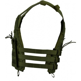 Jagun Tactical MOLLE Airsoft JPC Plate Carrier w/ Dummy Plates - OD GREEN