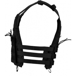 Jagun Tactical MOLLE Airsoft JPC Plate Carrier w/ Dummy Plates - BLACK