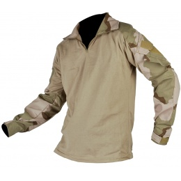 Jagun Tactical Gen 3 Airsoft Combat Pants and Shirt BDU - DESERT 3 COLOR