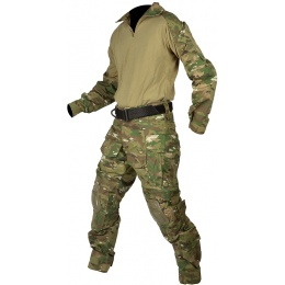 Jagun Tactical Gen 3 Airsoft Combat Pants and Shirt BDU - LAND CAMO