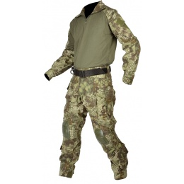 Jagun Tactical Gen 3 Airsoft Combat Pants and Shirt BDU - MDK CAMO