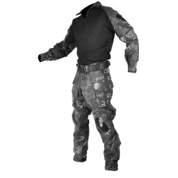 Jagun Tactical Gen 3 Airsoft Combat Pants and Shirt BDU - TYP CAMO