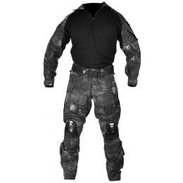 Jagun Tactical Gen 3 Airsoft Combat Pants and Shirt BDU - TYP CAMO