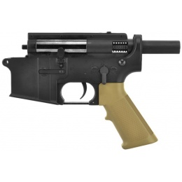 Golden Eagle Metal Gearbox Complete Metal Lower Receiver  - Tan