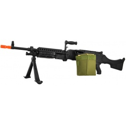 Golden Eagle Full Metal M240B Airsoft AEG Support Medium Machine Gun
