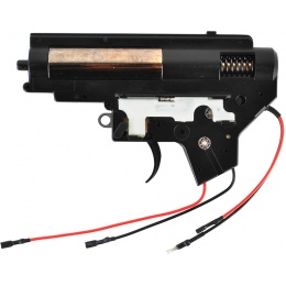 Echo1 8mm Metal Version 2 M4 AEG Rear Wired Airsoft Complete Gearbox