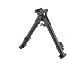 AIM Sports Airsoft Adjustable Bipod w/ 20mm Weaver Mount - Short