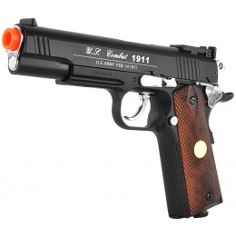 WG Sport 601 1911 CO2 Non-Blowback Airsoft Pistol w/ Accessory Rail