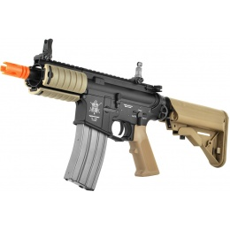 VFC VR16 Full Metal M4 Dagger AEG Airsoft Rifle w/ Crane Stock - TAN