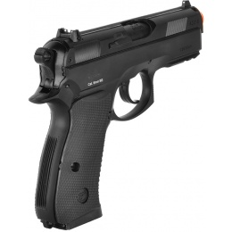 ASG Licensed CZ 75D Compact Spring Airsoft Pistol w/ Accessory Rail