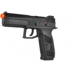 ASG Licensed CZ P-09 Duty GBB Gas Blowback Airsoft Pistol - BLACK