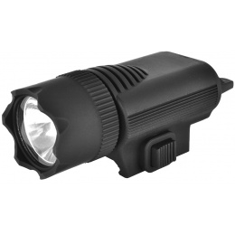 ASG Super Xenon 80 Lumen Tactical Rail Mounted Flashlight w/ Hat Clip
