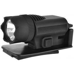 ASG Super Xenon 80 Lumen Tactical Rail Mounted Flashlight w/ Hat Clip
