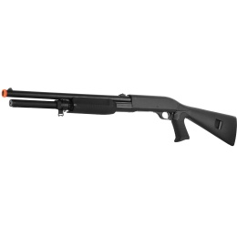 ASG Licensed Franchi SAS 12 Pump Action 3-Shot Airsoft Spring Shotgun