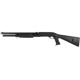 ASG Licensed Franchi SAS 12 Pump Action 3-Shot Airsoft Spring Shotgun