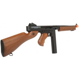 465 FPS Airsoft Fully Trademarked Full Metal Gearbox Thompson M1A1 Tommy Gun AEG Rifle