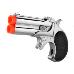 ASG Marushin 6mm Derringer Gas Powered Airsoft NBB Pistol - CHROME