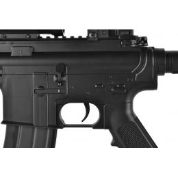 ASG DS4 CQB M4 Airsoft LPEG AEG w/ Red Dot & Tactical Flashlight