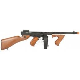 Cybergun Thompson M1A1  Chicago Typewriter Tommy Gun AEG Rifle