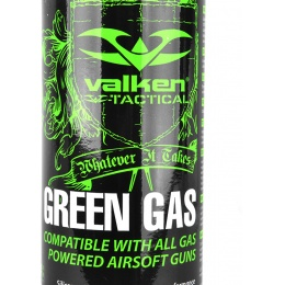 Valken Tactical 12-Pack 8oz Green Gas Case for Airsoft Guns (Hazmat Fee Included In Price)