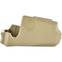 PTS Ergo Grips Falcon Never Quit M4 Magwell Rubberized Grip - TAN