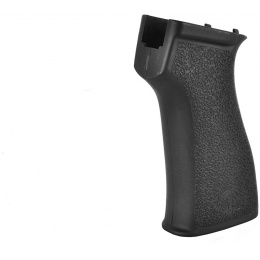 PTS US Palm AK Ergonomic Textured Battle Motor Grip - BLACK