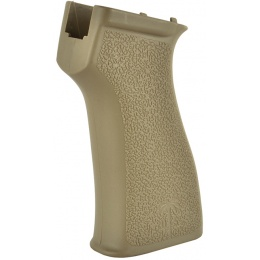 PTS US Palm AK Ergonomic Textured Battle Motor Grip - DARK EARTH