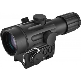 NcStar 4x32 DUO Dual Urban Optic w/ Offset Reflex Green Dot Sight