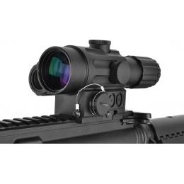 NcStar 4x32 DUO Dual Urban Optic w/ Offset Reflex Green Dot Sight