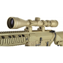 NcStar 3-9x40 Shooter Series Plex Reticled Rifle Scope - TAN