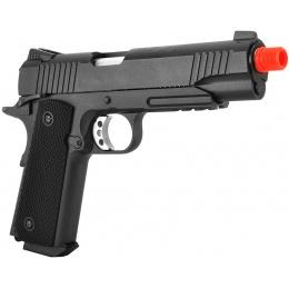 WellFire G194 M1911 CO2 Blowback Airsoft Pistol w/ 20mm Rail