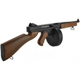 WellFire Polymer D98 M1A1 WWII Submachine Gun Airsoft AEG - FAUX WOOD