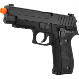 WE Tech Full Metal F226 Gas Blowback MK25 GBB Airsoft Pistol - BLACK