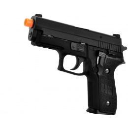 WE Tech F229R Series Gas Blowback GBB Airsoft Pistol - BLACK