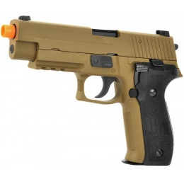 WE Tech F226 Series MK25 Gas Blowback GBB Airsoft Pistol - TAN