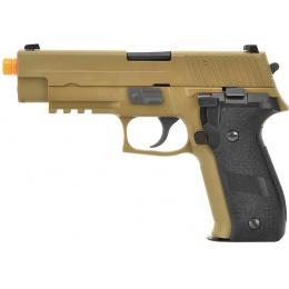 WE Tech F226 Series MK25 Gas Blowback GBB Airsoft Pistol - TAN
