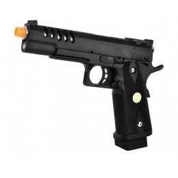 WE Tech Hi Capa 5.1 1911 Tactical Master Metal Airsoft Gas Blowback Pistol
