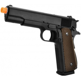 WE Tech M1911A1 WWII Gas Blowback GBB Airsoft Pistol w/ 30rd Magazine
