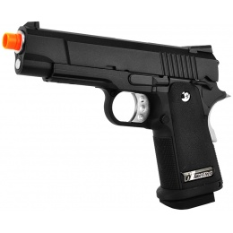 WE Tech Full Metal Hi-Capa 4.3 Compact Gas Blowback Airsoft Pistol