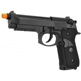 WE Tech Full Metal M9A1 M.E.U. CO2 Blowback Airsoft Pistol - BLACK