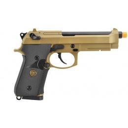 WE Tech Full Metal M9A1 M.E.U. CO2 Blowback Airsoft Pistol - TAN