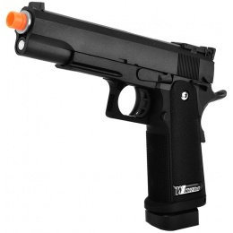 WE Tech Hi-Capa 5.1 M1911 R Version CO2 Blowback Airsoft Pistol