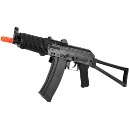 WE Airsoft AK74UN Full Metal GBBR Gas Blowback Rifle - Black