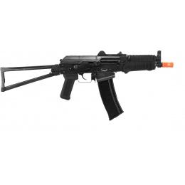 WE Airsoft AK74UN Full Metal GBBR Gas Blowback Rifle - Black
