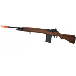 WE Tech M14 Gas Blowback GBBR Airsoft Sniper Rifle - SIMULATED WOOD