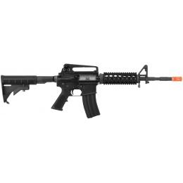 WE Tech Open Bolt M4A1 RIS Gas Blowback GBBR Airsoft Rifle - BLACK