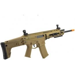 WE Tech MSK Open Bolt Gas Blowback GBBR Airsoft Combat Rifle - TAN