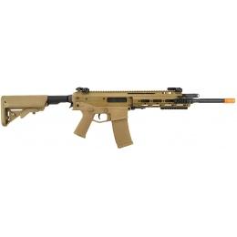WE Tech MSK Modular RIS Airsoft Gas Blowback GBBR Rifle - TAN